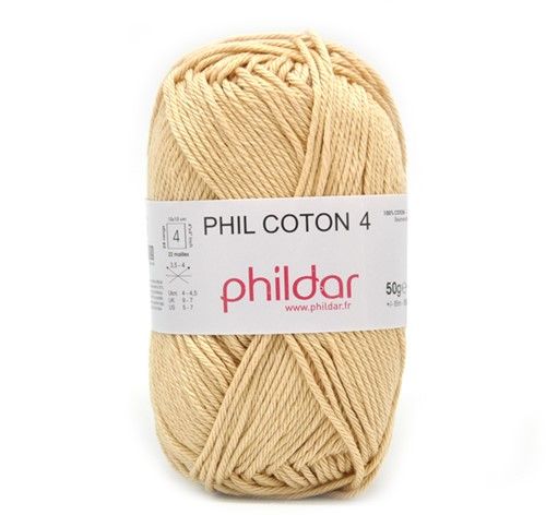 Phildar Phil Coton 4 1192 Seigle