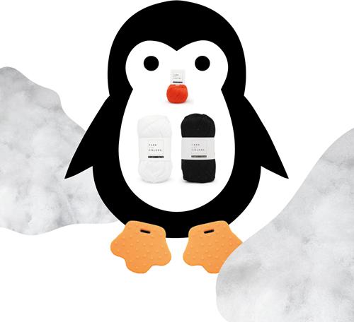 Pinguïn Garenpakket
