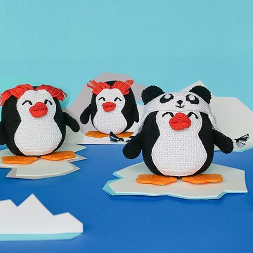 Haakpatroon Quinn de Panda-Pinguïn