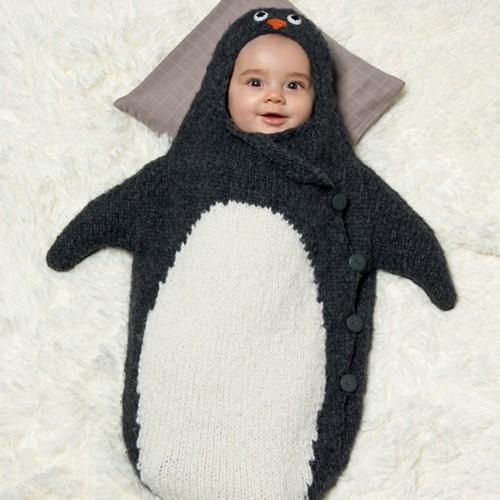 Breipatroon Pinguintrappelzak