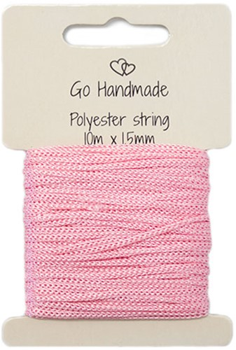 Polyester Koord 4 Roze