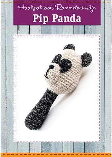 Haakpatroon Pip Panda Rammelaar