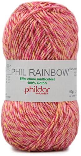 Phildar Phil Rainbow 1428 Pivoine