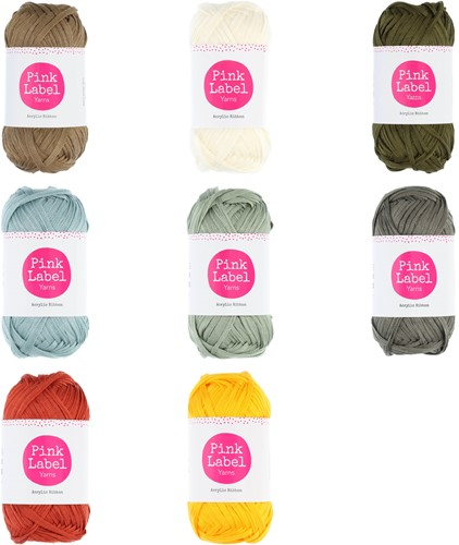 Pink Label Acrylic Ribbon Alle Kleuren Pakket