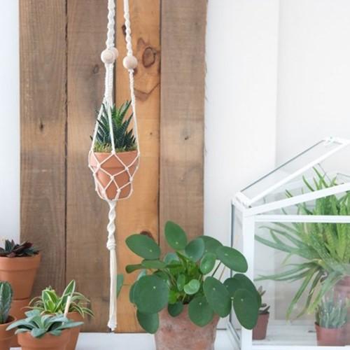Macramé Patroon Durable Plantenhanger