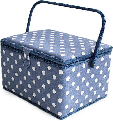 Naaimand Denim Polka Dot Large
