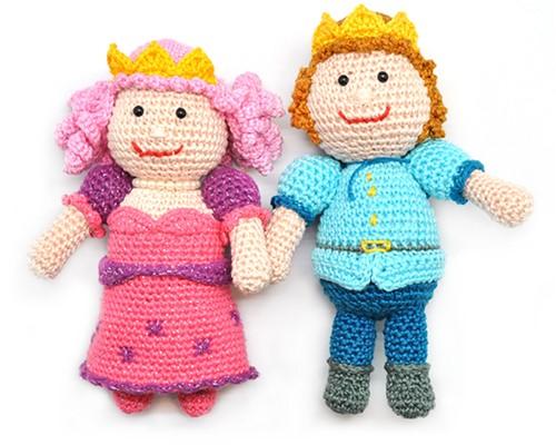 Haakpatroon Prins en prinses
