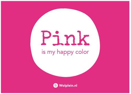 Pink Label Ansichtkaart