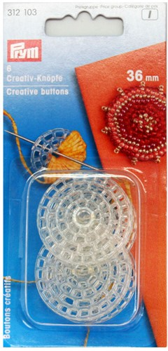 Prym Creative Buttons 36mm