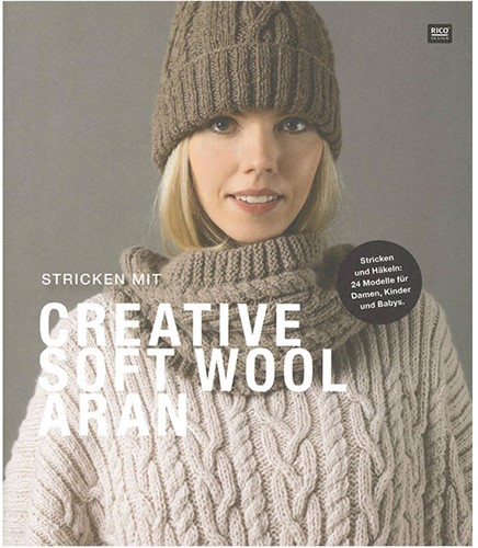 Rico Creative Soft Wool Aran Magazine