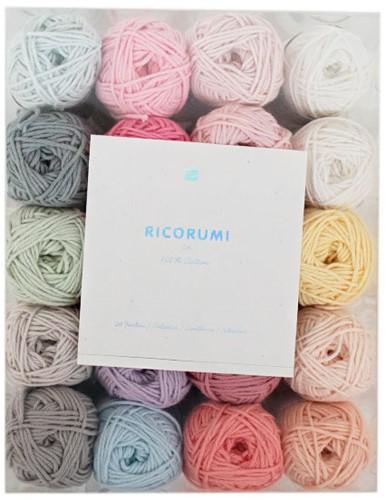 Rico Ricorumi Set 20 Kleuren Baby Pastel