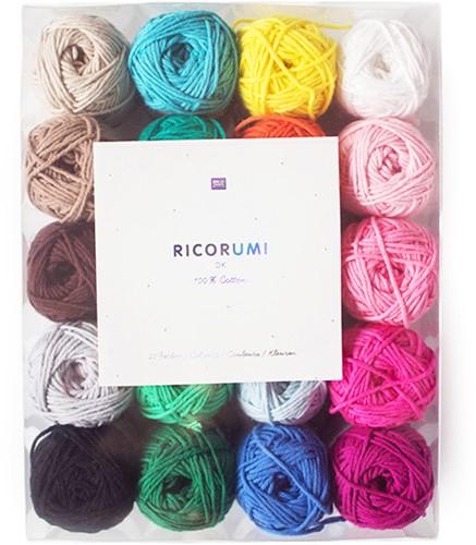 Rico Ricorumi Set 20 Kleuren