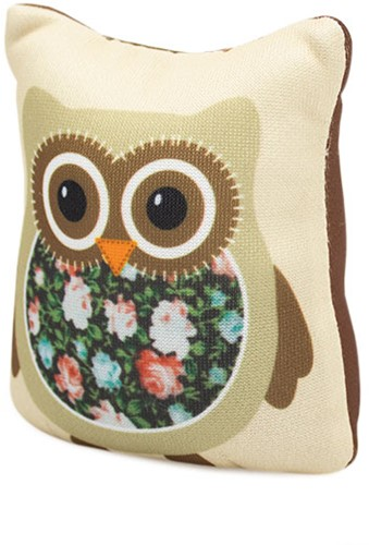 Sew Easy Speldenkussen Owl Brown