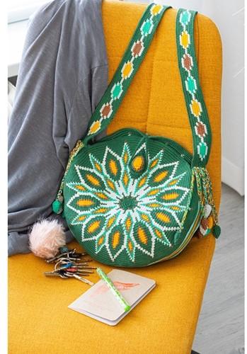 Haakpatroon Green Bag Mochilla Tas