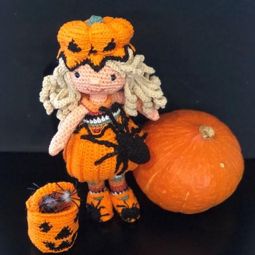Haakpatroon Dressed for Halloween