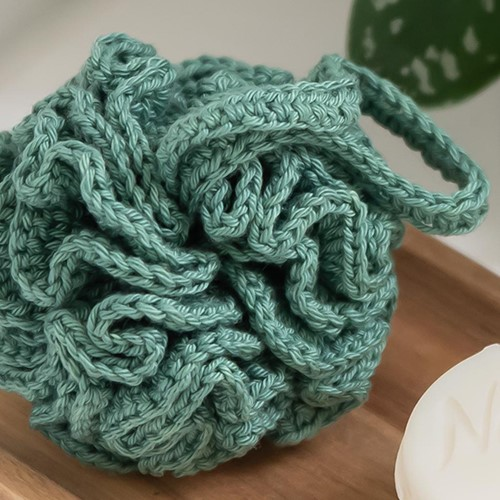 Haakpatroon Yarn and Colors Shower Pouf