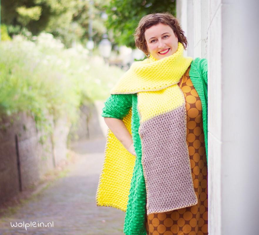 Super chunky tunische sjaal haken