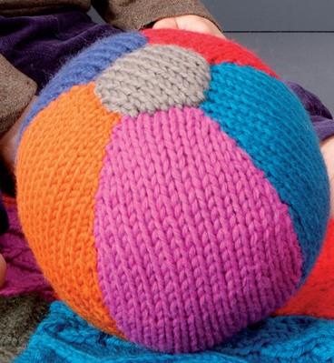 Breipatroon speelgoed bal