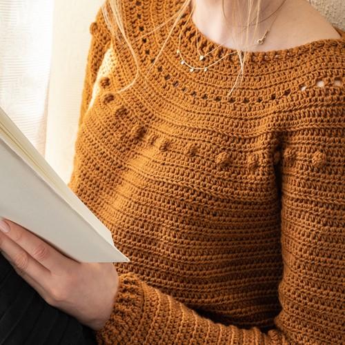 Yarn and Colors Sunrise Sweater Haakpakket 2 Satay S