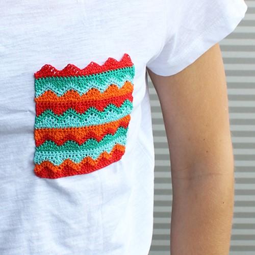 Haakpatroon T-shirt zakje