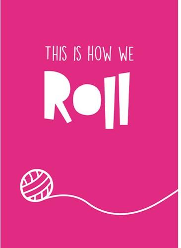 Wolplein Ansichtkaart - This is how we roll