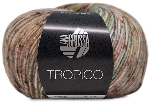 Tropico Ajourtop Breipakket 1 36/38 Pistachio / Lime Green / Terracotta / Khaki / Purple / Yellow / Rose