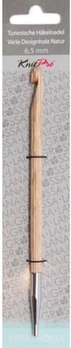 Lana Grossa Tunische Haaknaald Natur-Holz 6,5mm