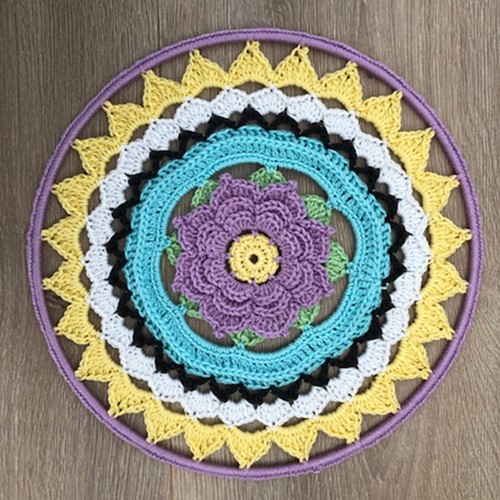 Haakpatroon Mandala Fiorella