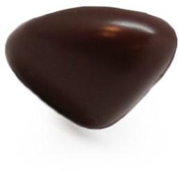 Veiligheidsneus driehoek bruin 24mm