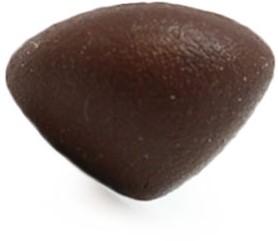 Veiligheidsneus driehoek soft bruin 18mm