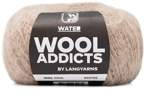Wooladdicts Mallow Mood Vest Breipakket 2 L/XL