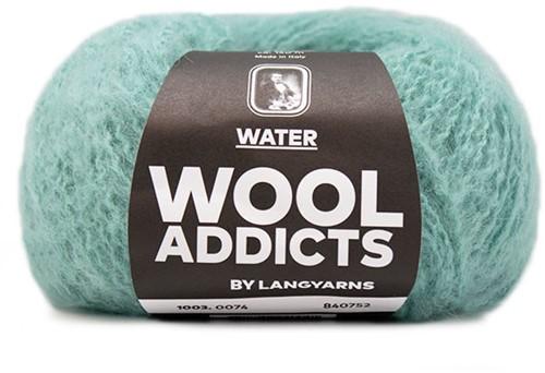 Wooladdicts Mallow Mood Vest Breipakket 9 L/XL