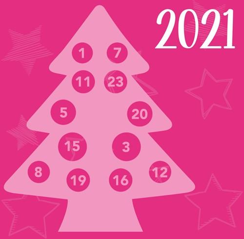 Het Vrolijke Kerstboom AdventCAL Haakpakket