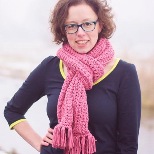Haakpatroon Tunische sjaal
