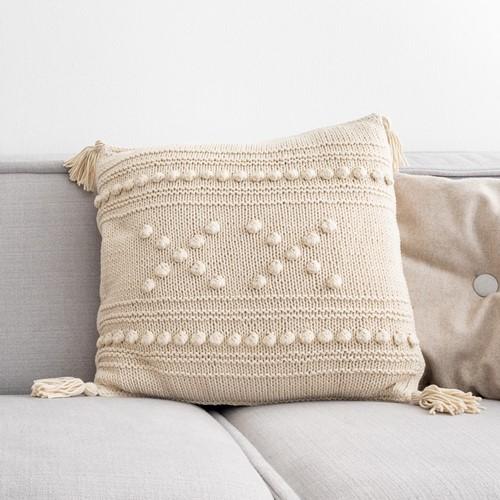 """Yarn and Colors """"XX"""" Cushion Breipakket 003 Ecru"""