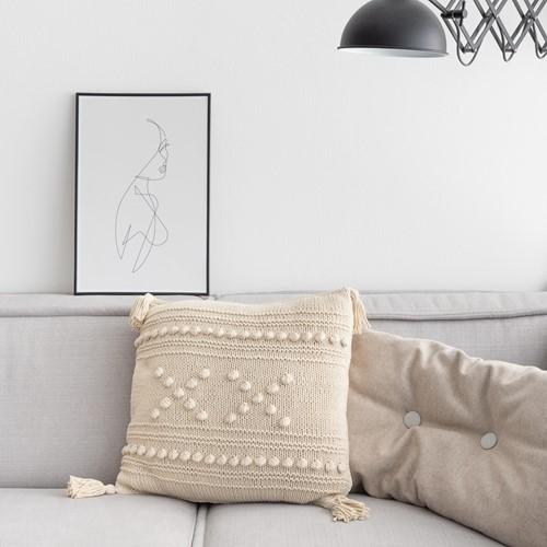 "Breipatroon Yarn and Colors ""XX"" Cushion"