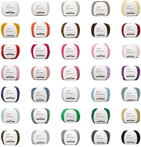 Yarn and Colors Baby Fabulous Alle Kleuren Pakket