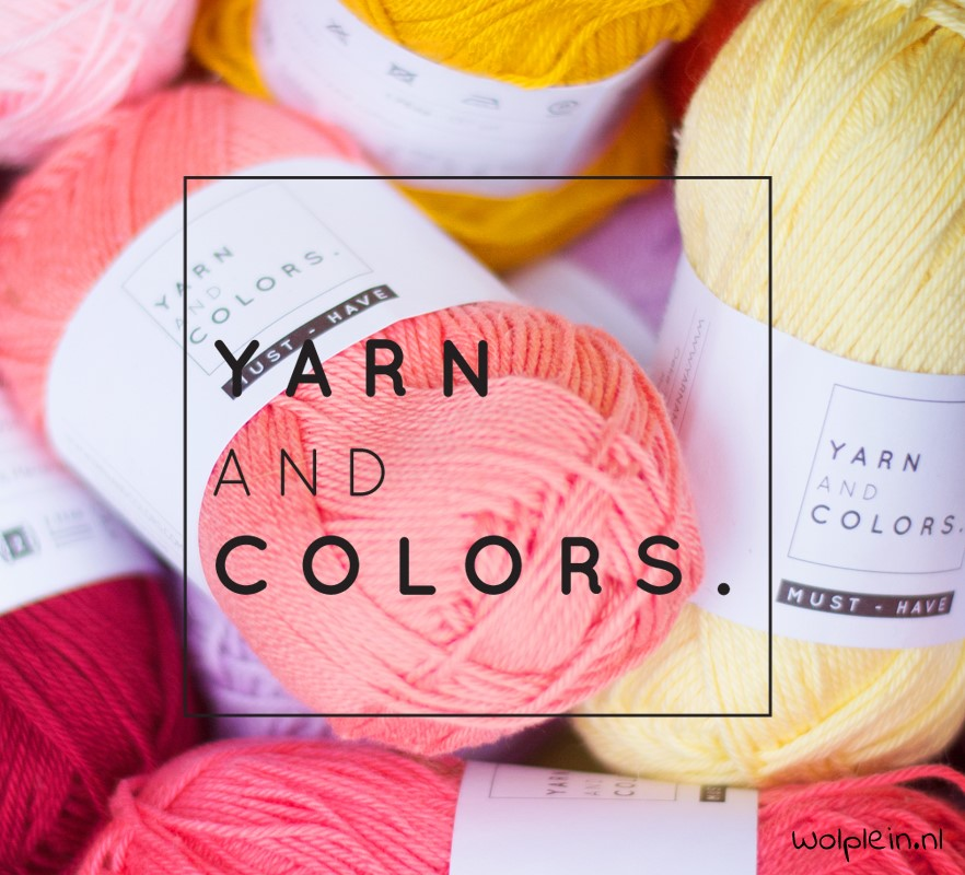 NIEUW: Yarn and Colors