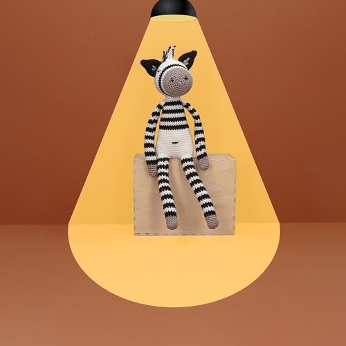 Haakpatroon Yarn and Colors Zapp Zebra