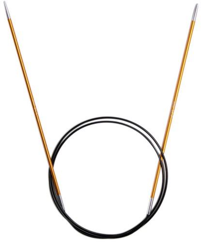 KnitPro Zing Rondbreinaalden 80cm 2,25mm