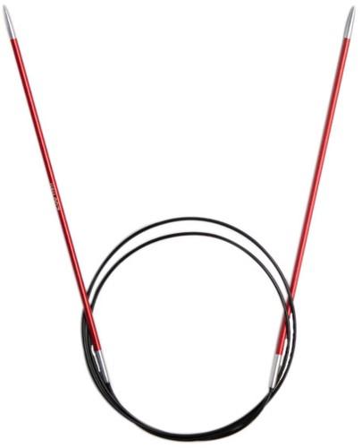KnitPro Zing Rondbreinaalden 80cm 2,5mm