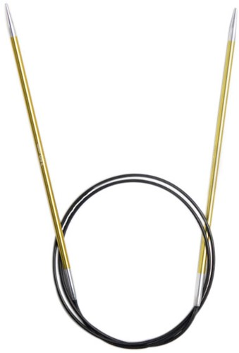 KnitPro Zing Rondbreinaalden 80cm 3,5mm