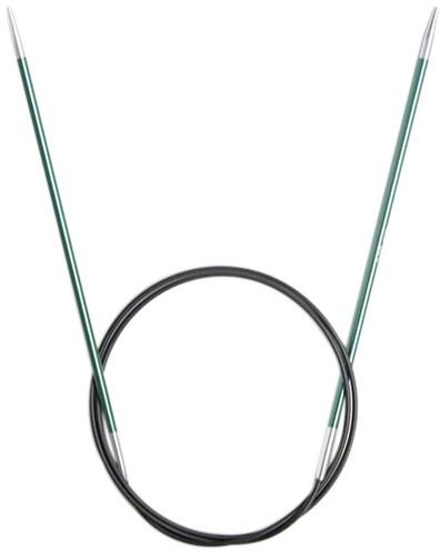 KnitPro Zing Rondbreinaalden 80cm 3mm
