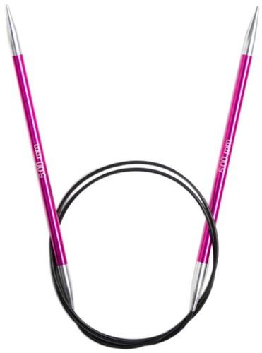 KnitPro Zing Rondbreinaalden 80cm 5mm