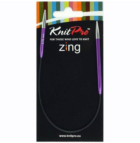 KnitPro Zing Sokken Rondbreinaalden 25cm 4,5mm