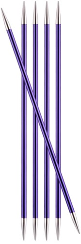 KnitPro Zing Sokkennaalden 20cm 3,75mm