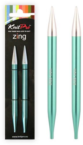 KnitPro Zing Verwisselbare Rondbreinaalden 3mm - 8mm