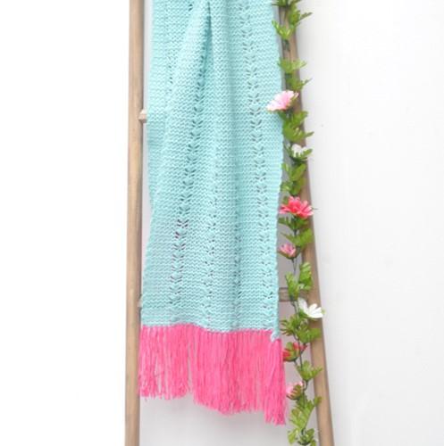Haakpatroon Cool Wool zomersjaal