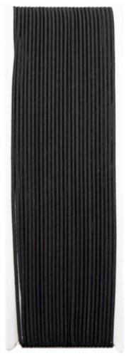 Elasta Elastic Thin Cord Black
